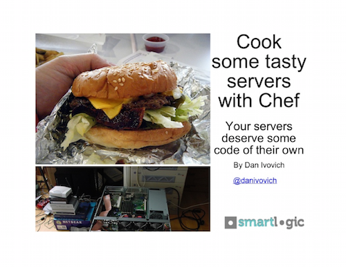 Cook Some Tasty Servers with Chef Presentation